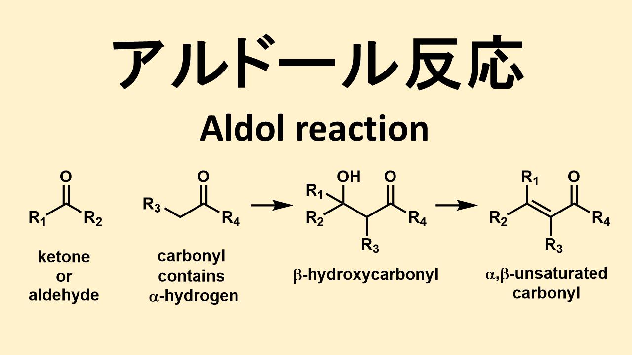 アルドール反応 (aldol reaction)