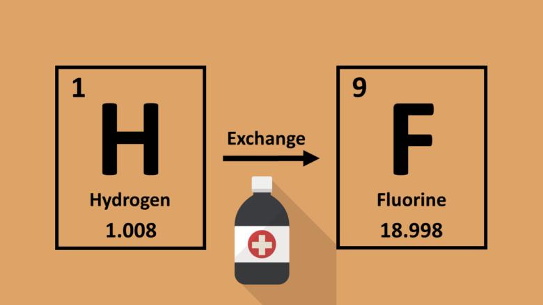 フッ素と医薬品: 水素の生物学的等価体としての効果