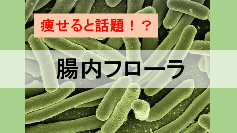 痩せると話題の腸内フローラって何?科学的に解説。