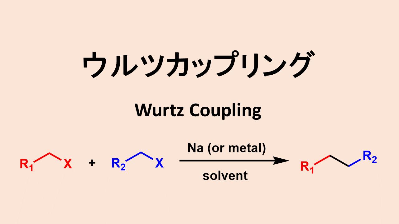 ウルツカップリング: Wurtz Coupling