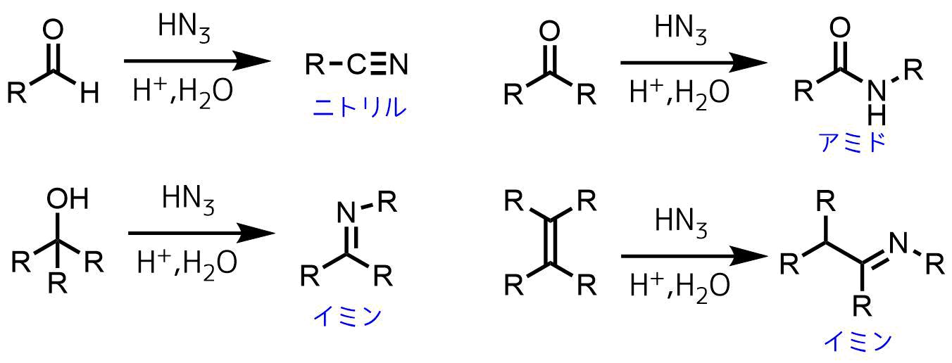 シュミット反応の適用例