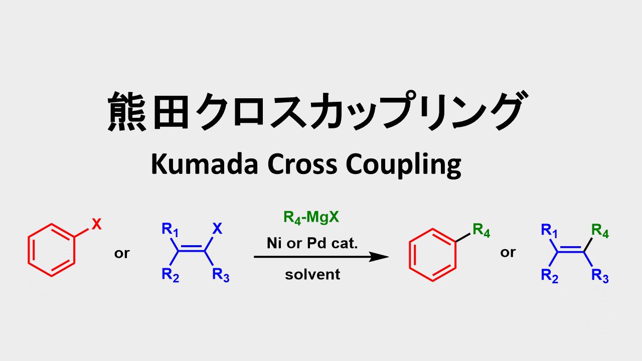 熊田クロスカップリング: Kumada Cross Coupling