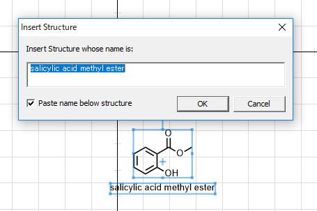 name to structure