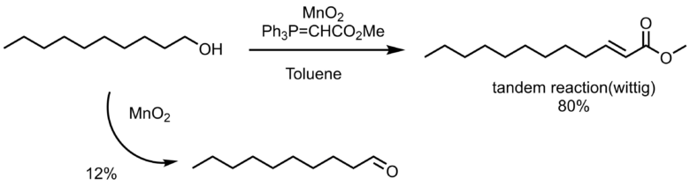 MnO2酸化 タンデム