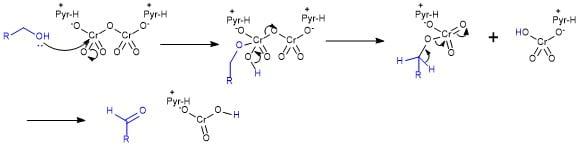 PDC酸化の反応機構