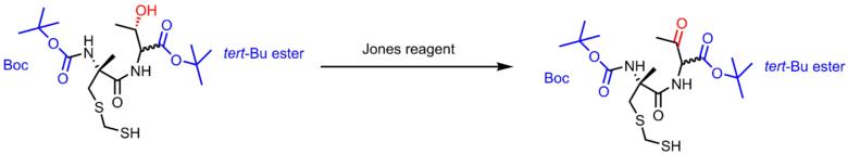 jones酸化の条件例