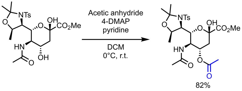 Ac保護反応例1