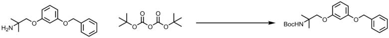 Boc化の反応機構
