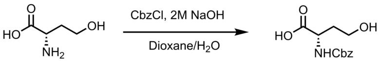 Cbz保護化反応例1
