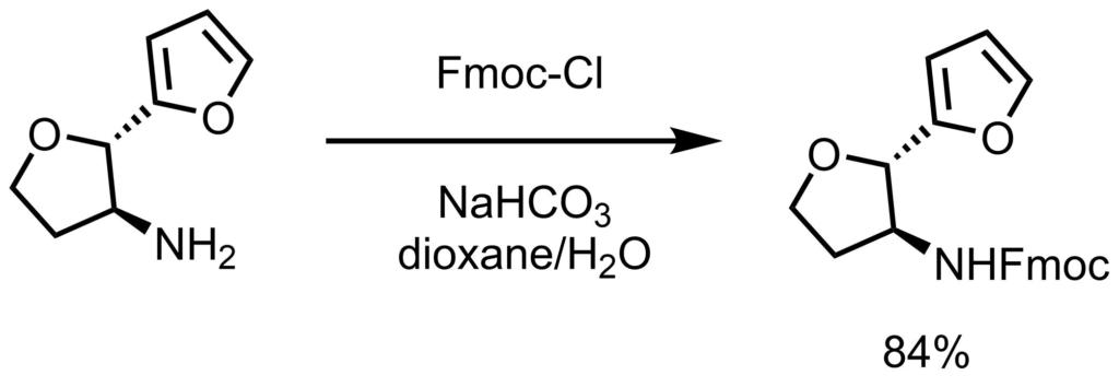 Fmoc保護例1