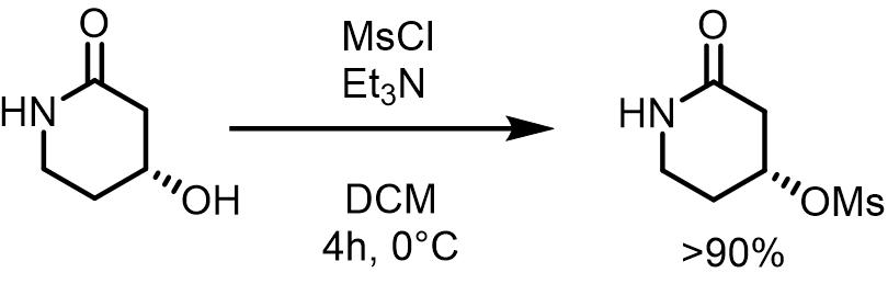 メシル化反応例1