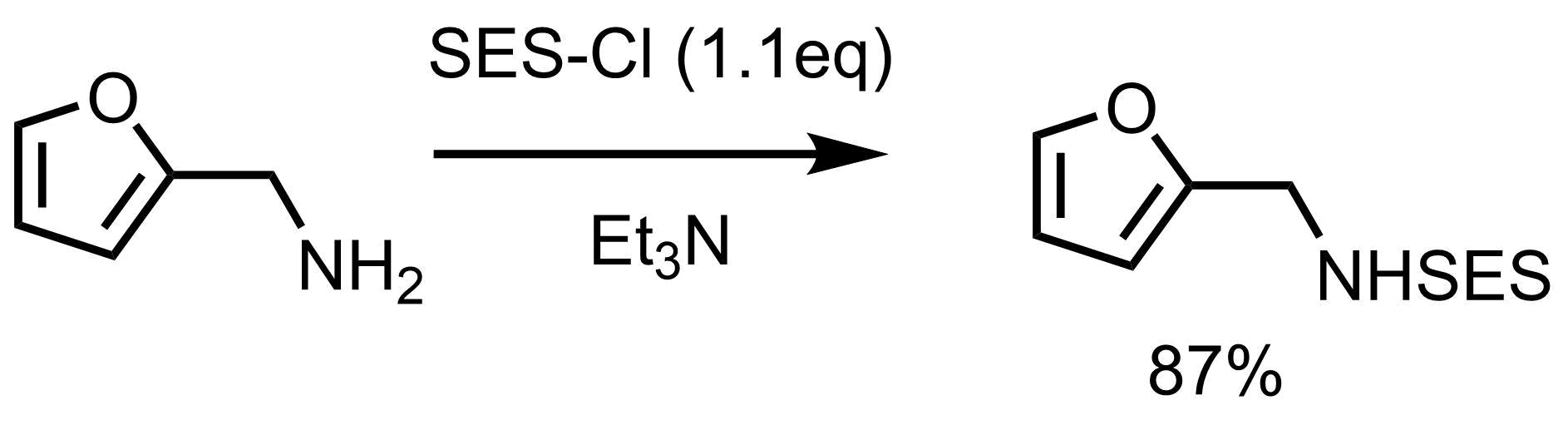 SES反応例1