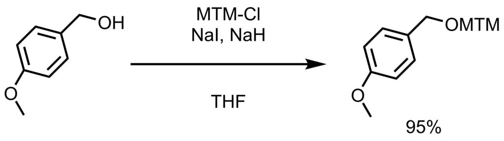MTM保護反応例1