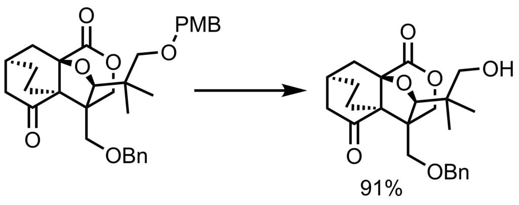 PMB脱保護反応例1