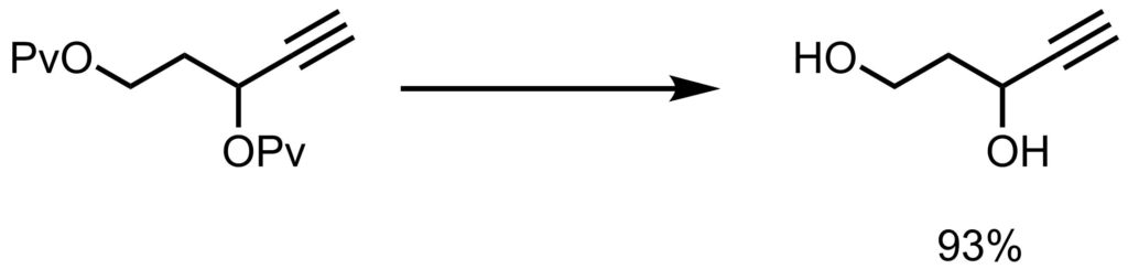 Pv基の脱保護例2