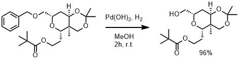 パールマン触媒反応例1