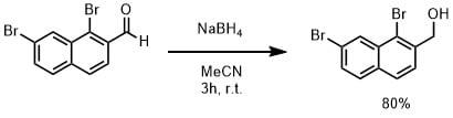 水素化ホウ素ナトリウムでアルデヒドの還元