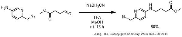NaBH3CNによるイミンの還元