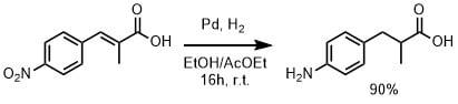 パラジウム炭素の還元例1