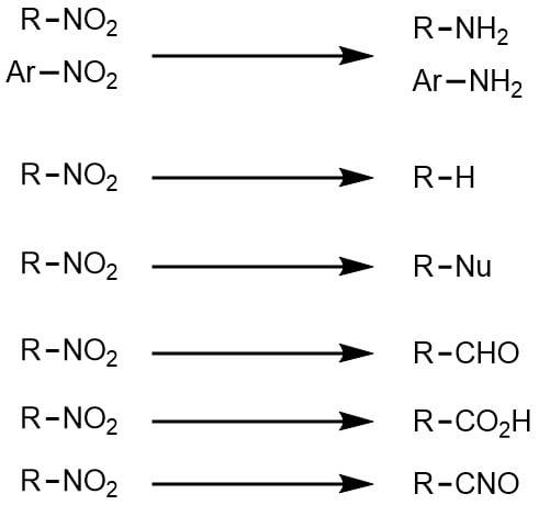 ニトロ体の変換