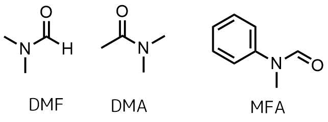 ビルスマイヤー試薬調製に使われるホルムアミド類