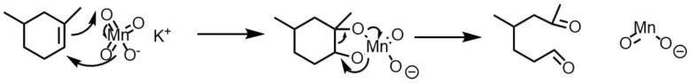 過マンガン酸カリウムの酸化
