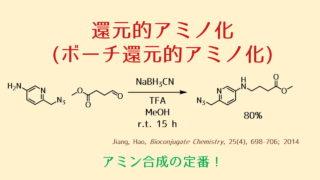 還元的アミノ化反応(ボーチ還元的アミノ化)
