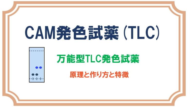 セリウムモリブデン酸アンモニウム(CAM)TLC発色試薬