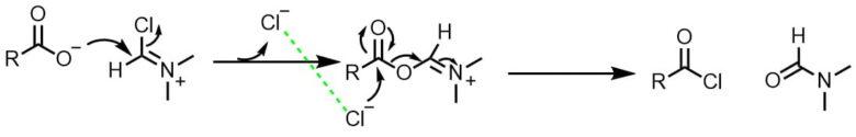 ビルスマイヤー反応酸クロ