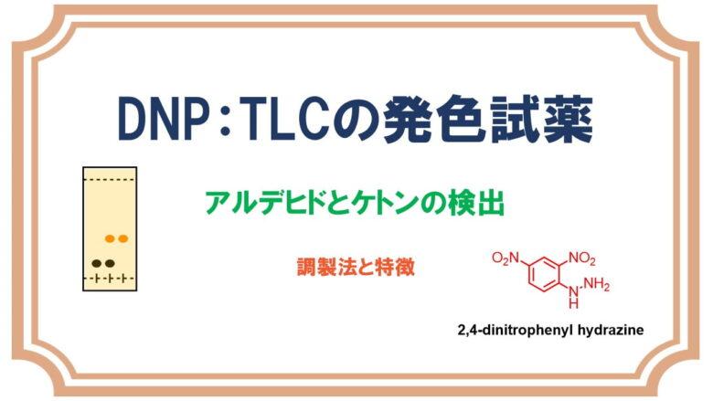 DNP(2,4-ジニトロフェニルヒドラジン)ケトンとアルデヒドの発色試薬