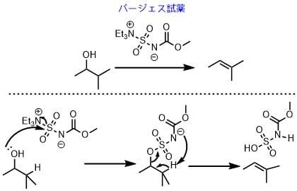 バージェス試薬の反応機構バージェス試薬の反応機構