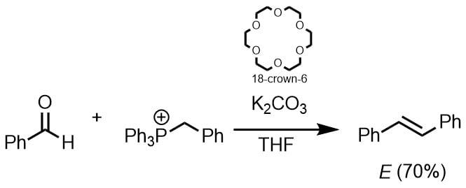 炭酸カリウムでウィッティヒ反応