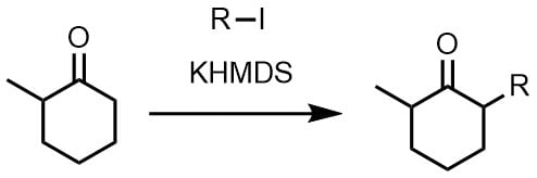 KHMDSでエノラート生成1