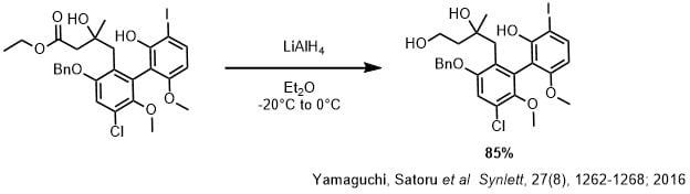 LAH反応条件1