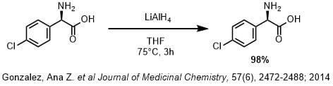 LAHを用いたカルボン酸の還元