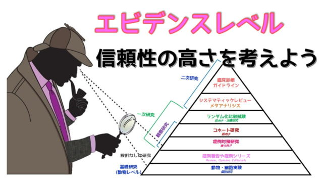 エビデンスレベルピラミッド