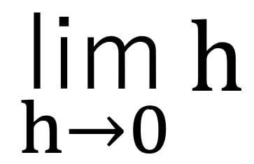 limの表記