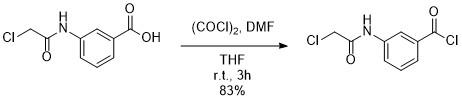 酸クロ塩化オキサリル反応