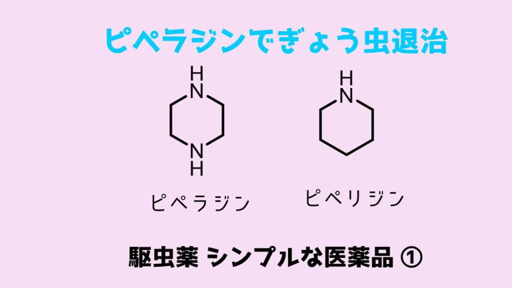 ピペラジン駆虫薬