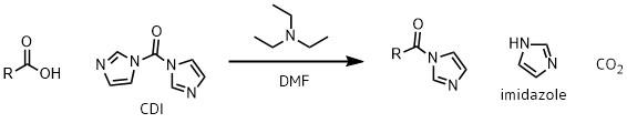 アシルイミダゾールの生成