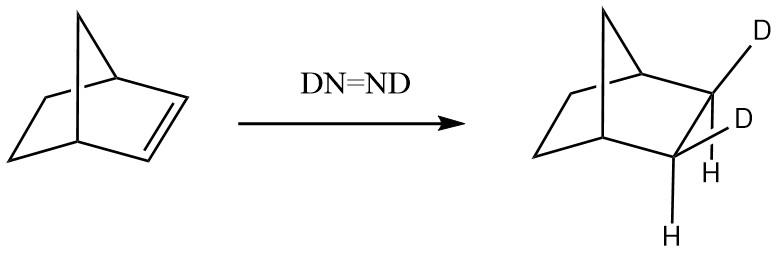ジイミド還元の立体選択的性