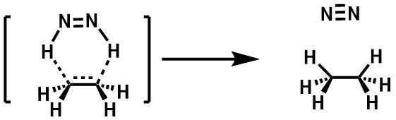 ジイミド還元の反応機構