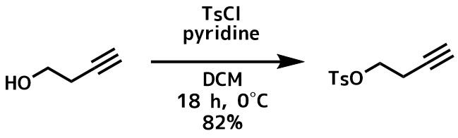 トシル化反応例2ピリジン