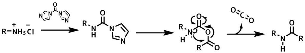 CDIのアミン活性化機構