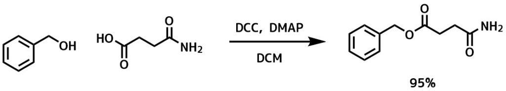 DCCによるエステル化