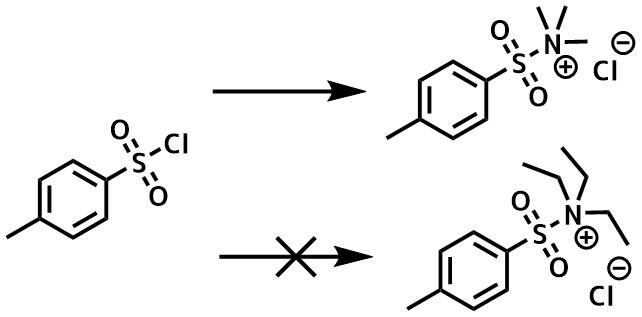 TsCl_トリメチルアミン法