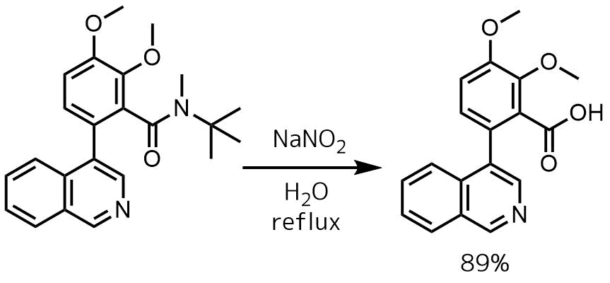 アミドの酸加水分