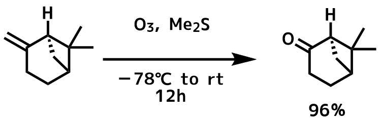 オゾン酸化の例1