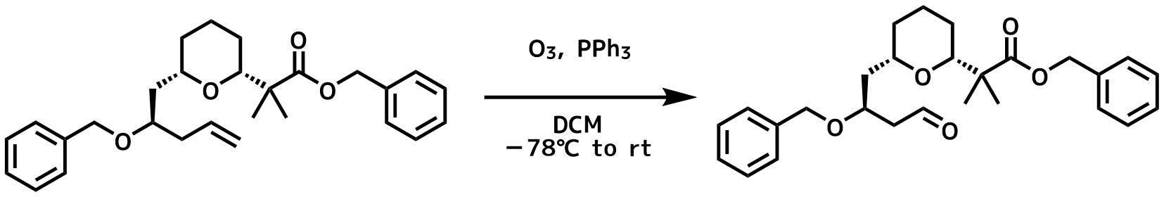 オゾン酸化の例2