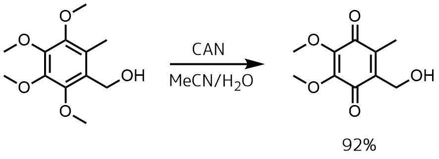 キノン合成ーCAN例1